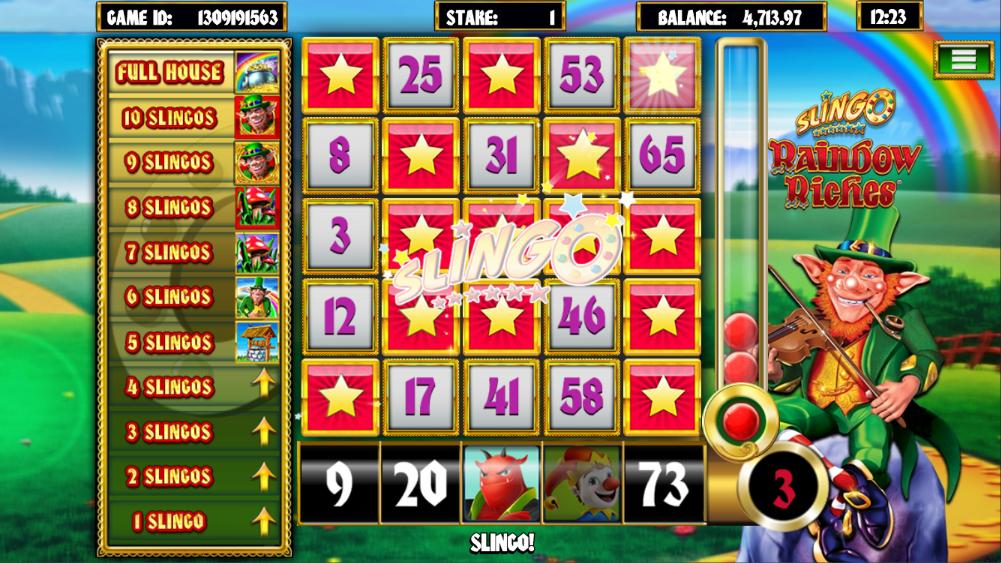 Slingo Rainbow Riches Slots Online