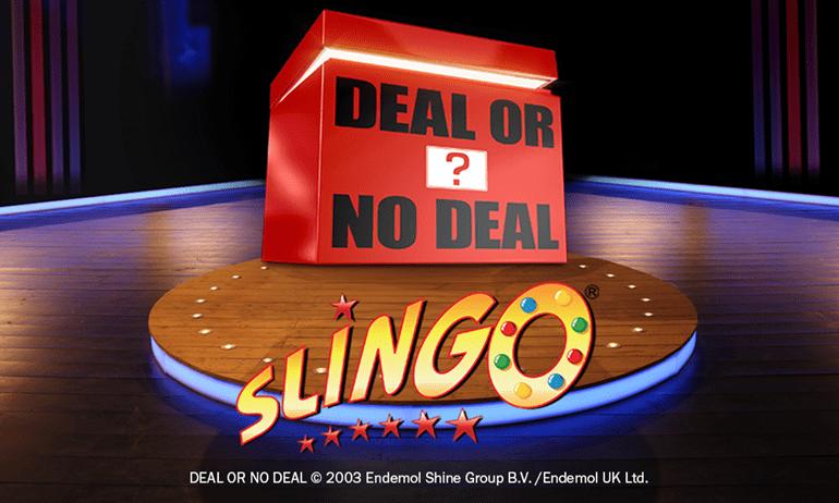 Slingo Deal or No Deal Slot Logo Wizard Slots