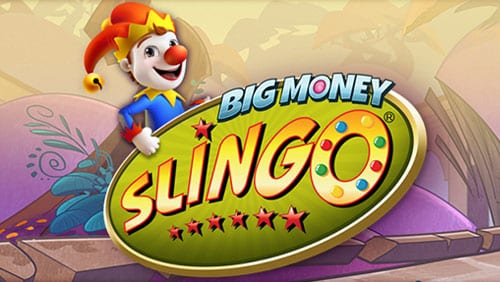 Slingo online slots game logo