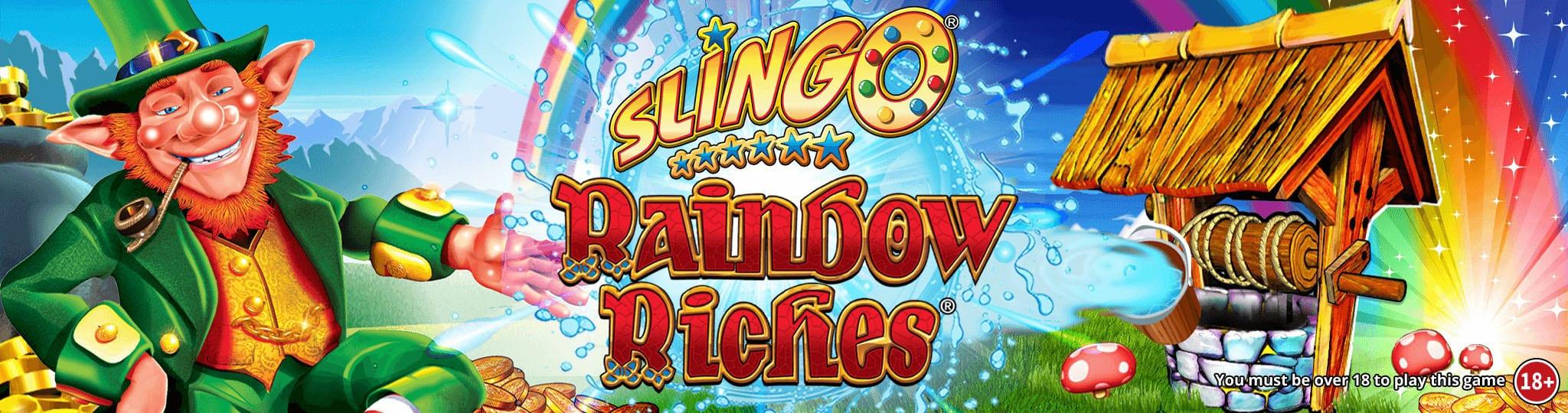 Slingo Rainbow Riches Wizard Slots