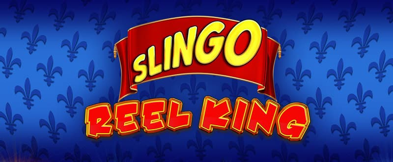 Slingo Reel King Slot Logo Wizard Slots