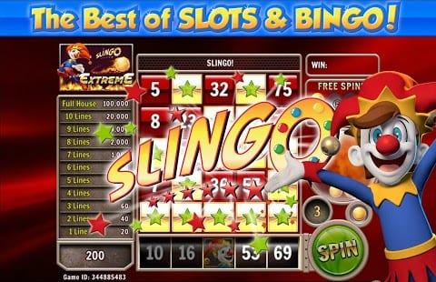 Slingo slots gameplay