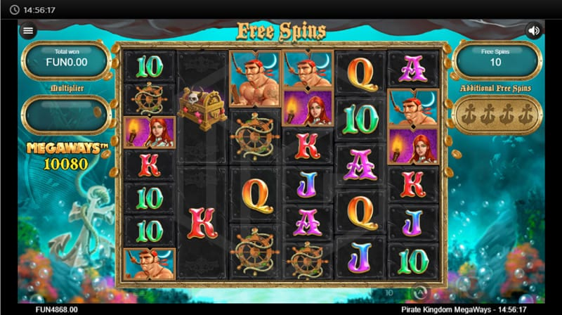 Pirate Kingdom MegaWays Slot Online