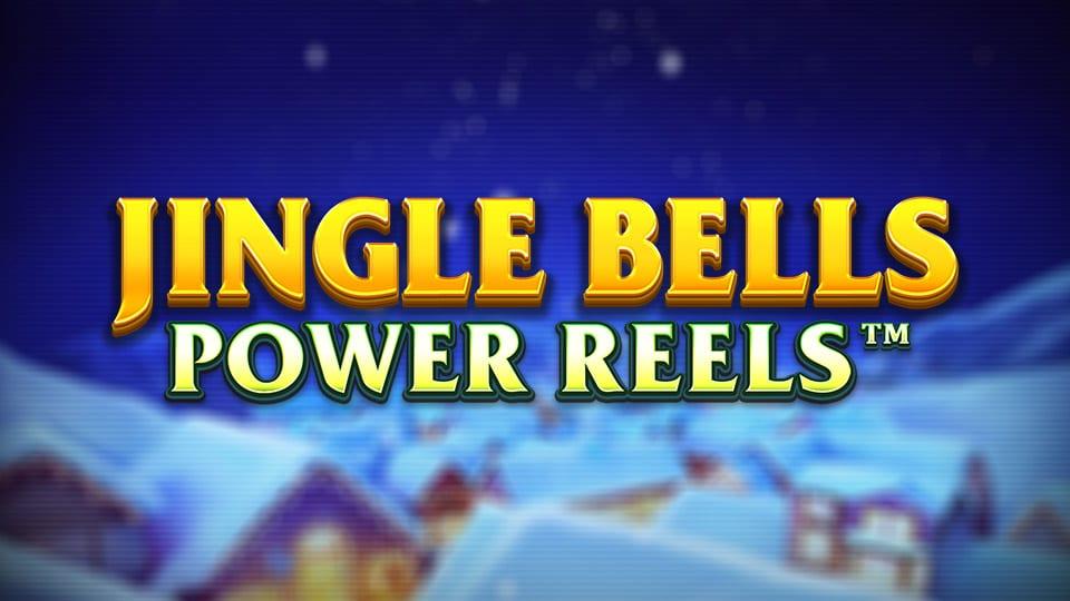 Jingle Bells Power Reels Slot Logo Wizard Slots