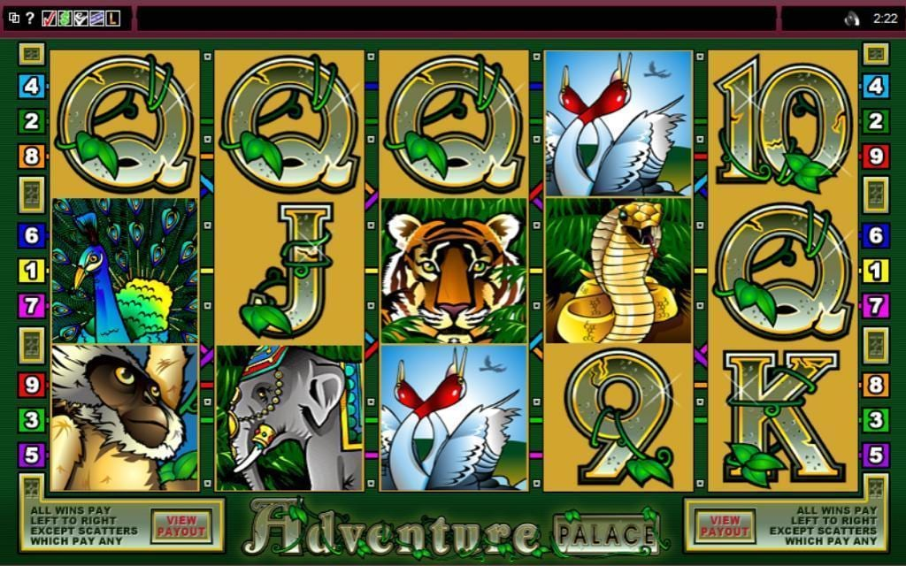 Adventure Palace slots game gameplay