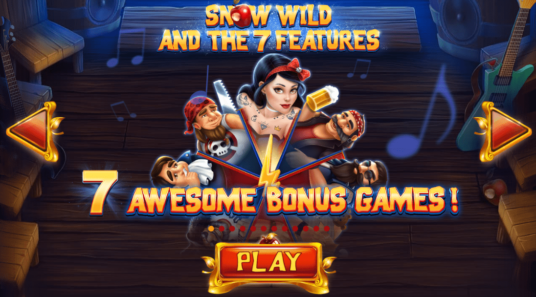 Snow Wild And Seven Features Logo