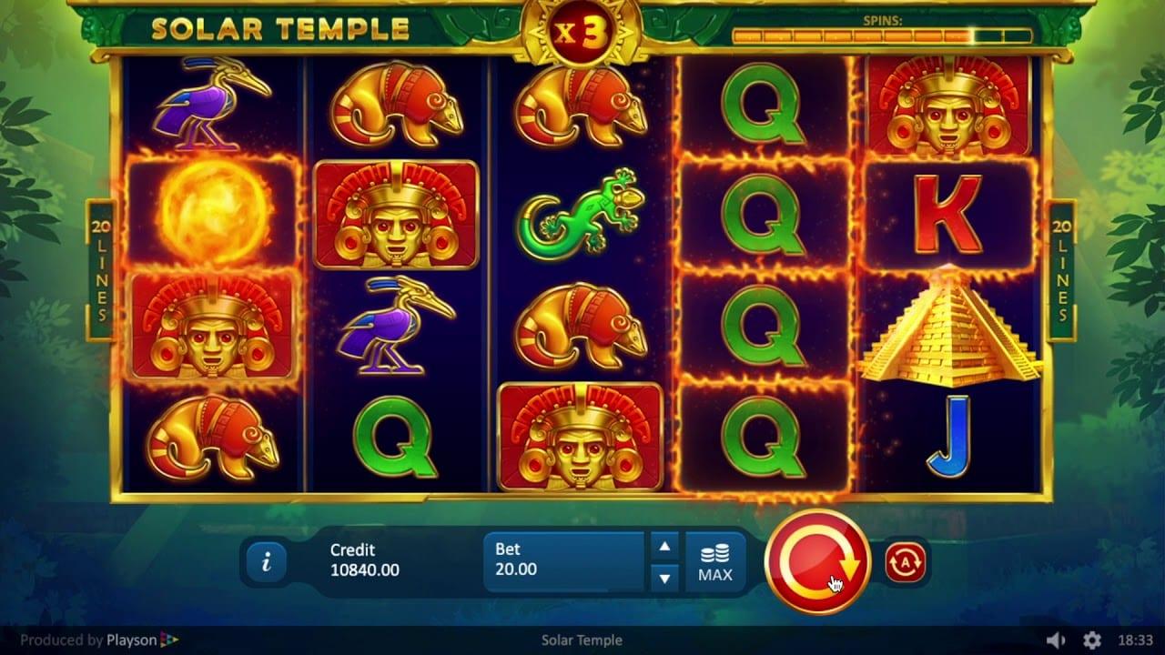 Solar Temple Slots Casino