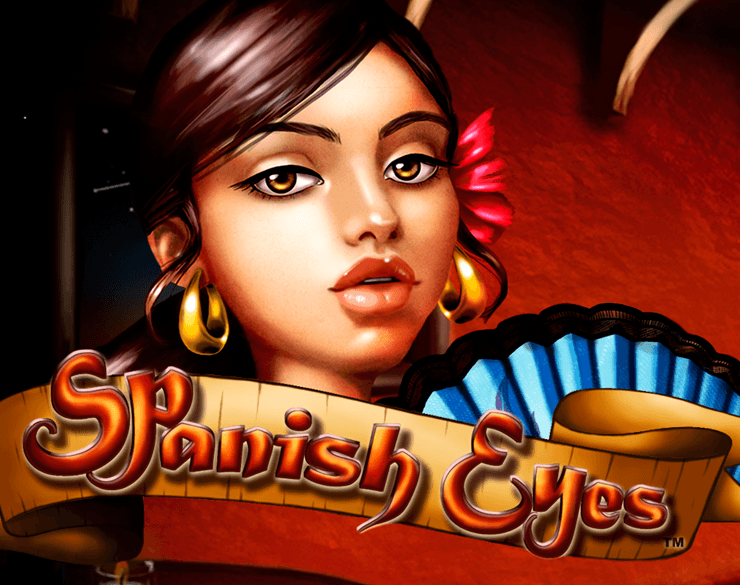 Spanish Eyes online slots game logo