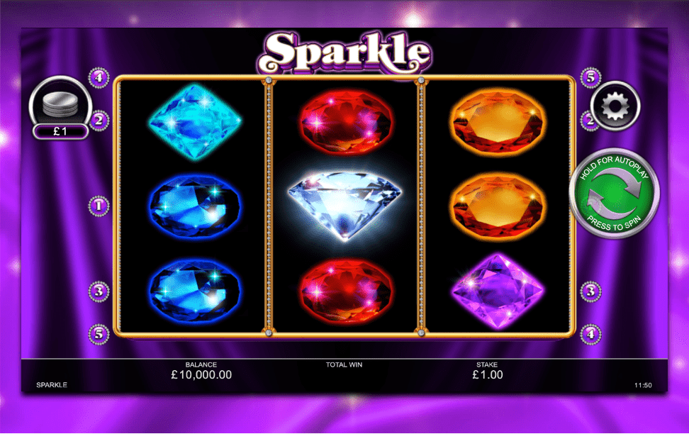 Play Sparkle Slot Games