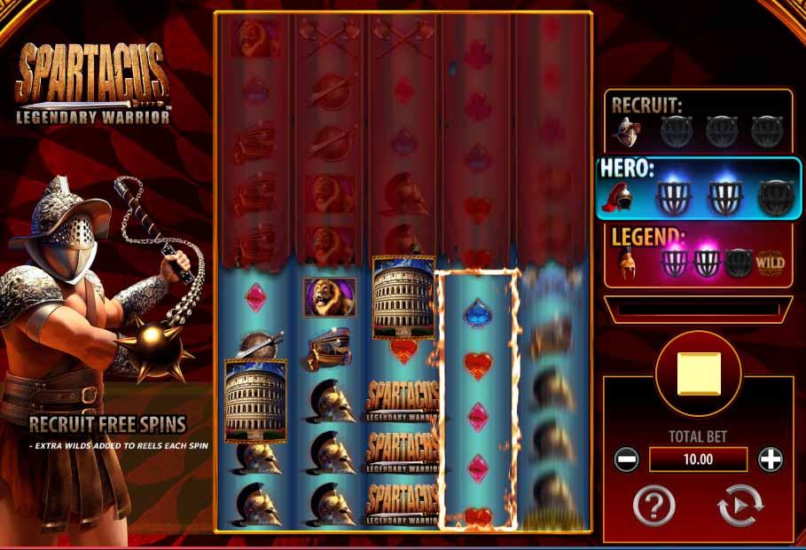 Spartacus Legendary Warrior Slot Game