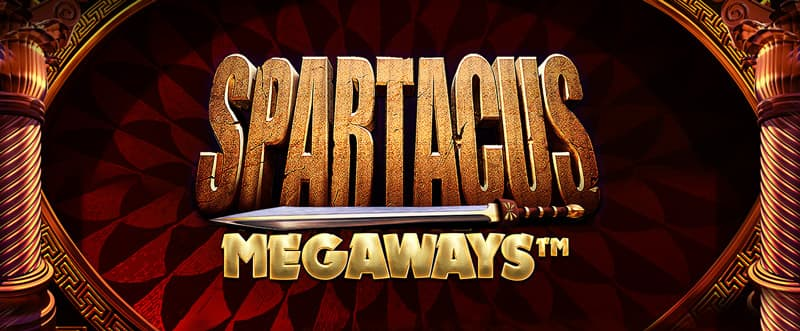 Spartacus Megaways Slot Logo Wizard Slots