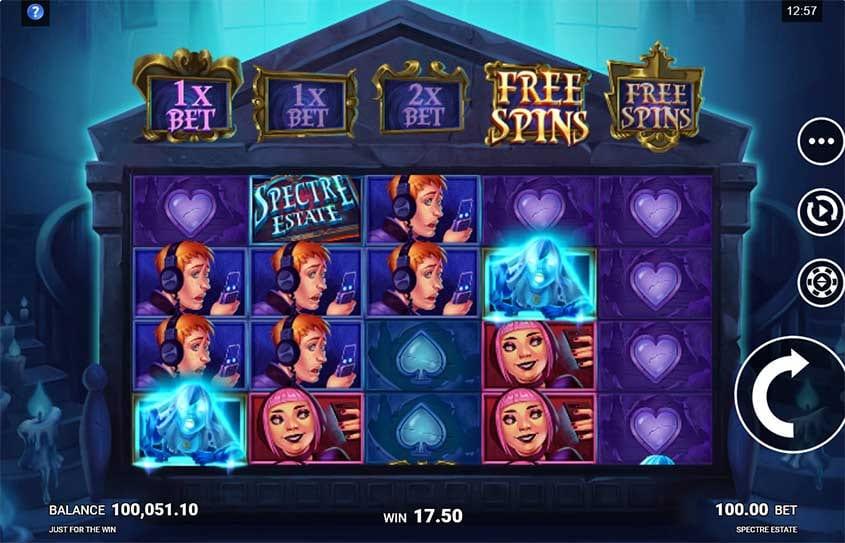 Spectre Estate Free Slots