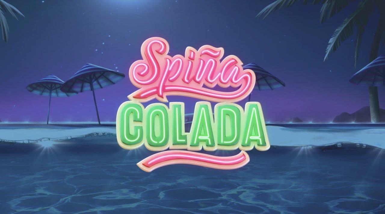 Spina Colada online slots game logo