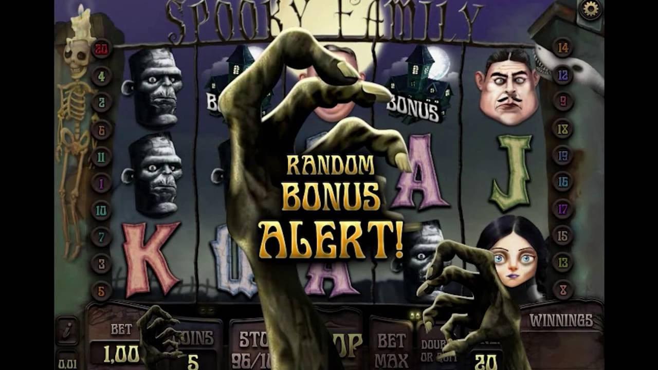 Spooky Family Slot Wizard Slots
