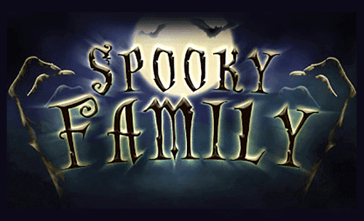 Spooky Family online slots game logo