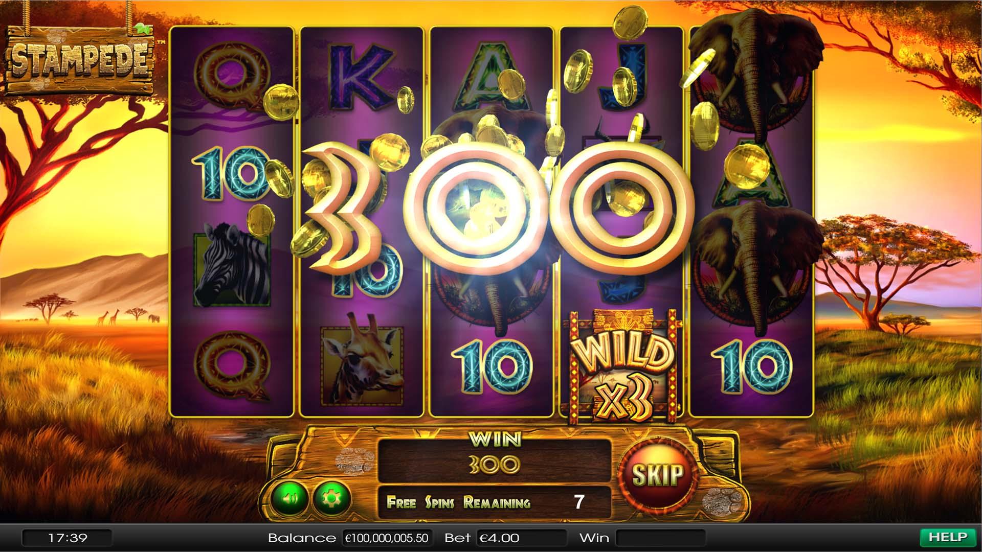 Stampede Slots Online