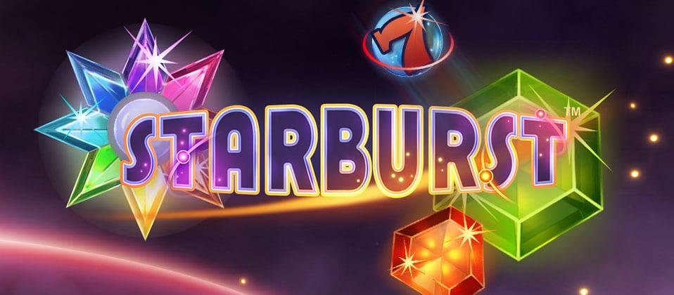 Starburst online sots game logo