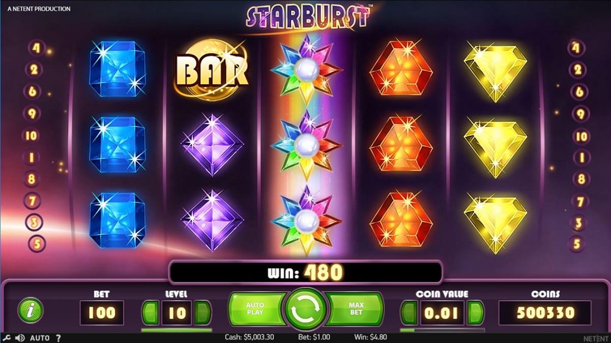 Starburst Online Casino Slot