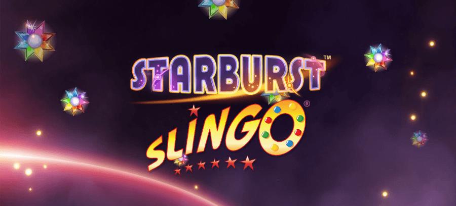 Slingo Starburst Slot Logo Wizard Slots
