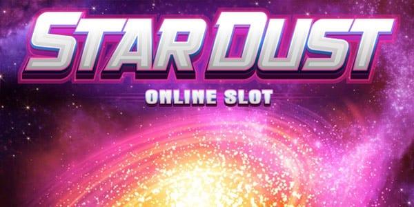 Stardust online slots game logo