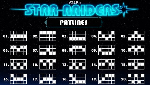 Star Raiders Paylines