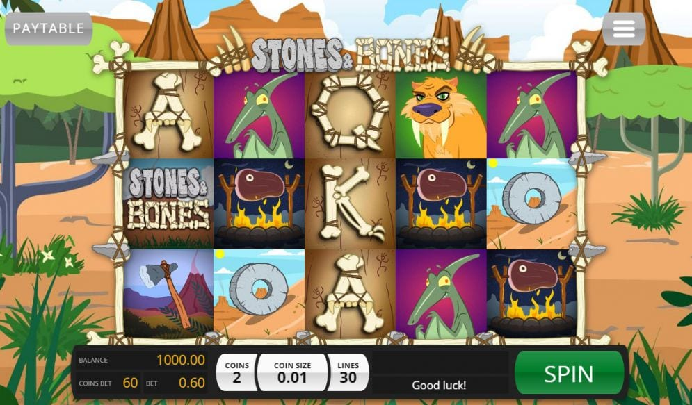 stones and bones gameplay