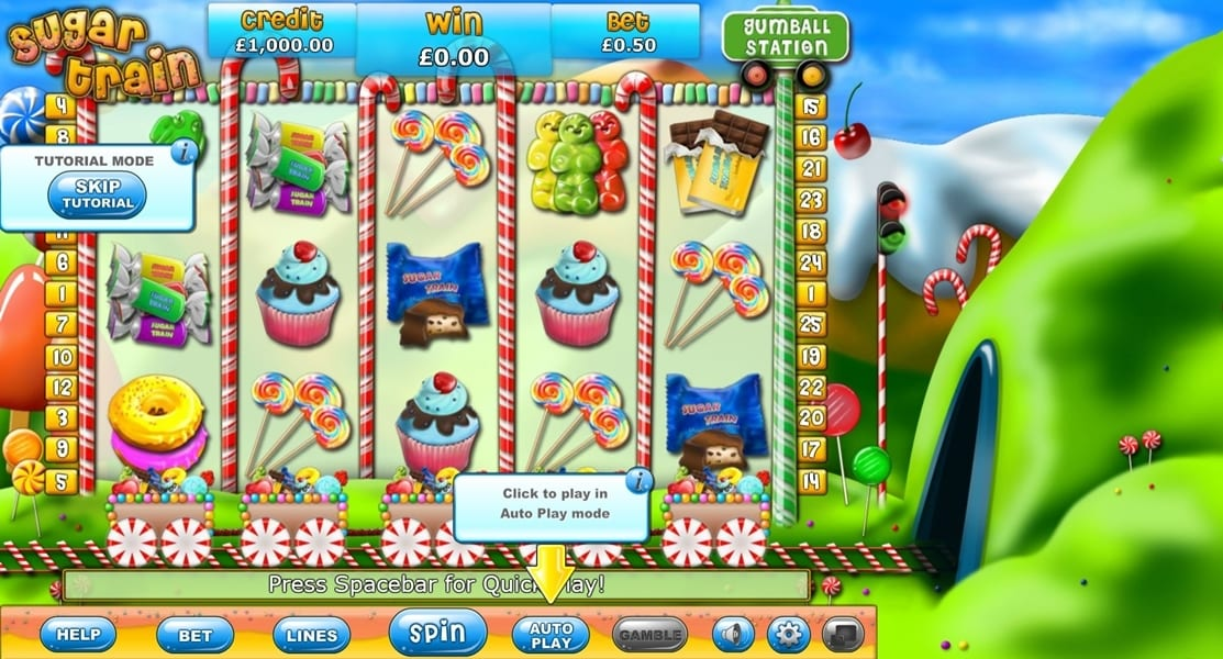 Sugar Train Jackpot gameplay