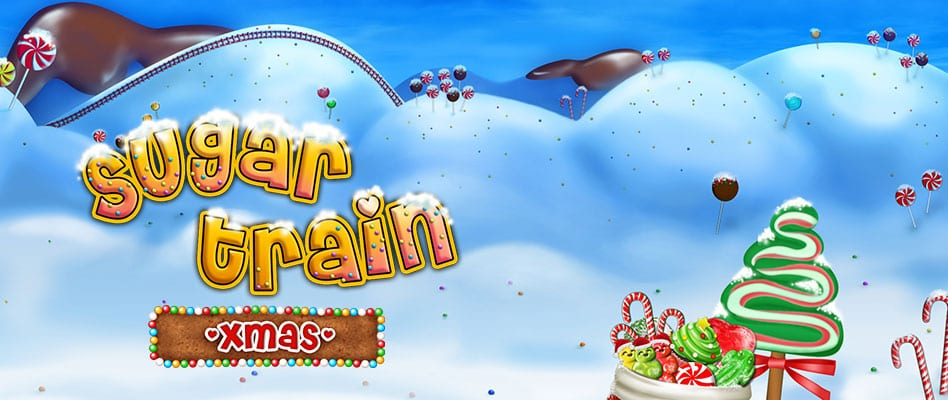 Sugar Train Xmas online slots game logo