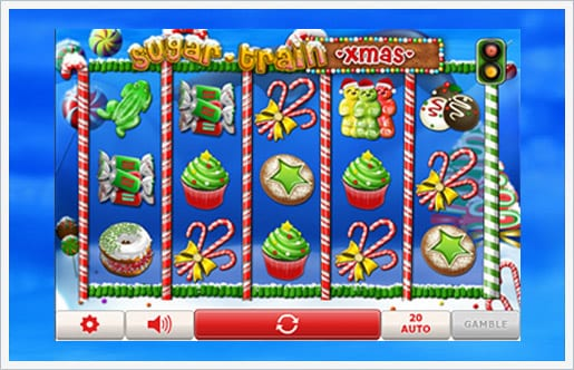 Sugar Train Xmas Jackpot gameplay 2