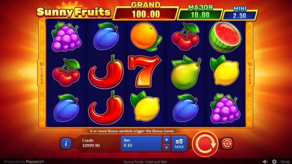 Sunny Fruits Free Slots