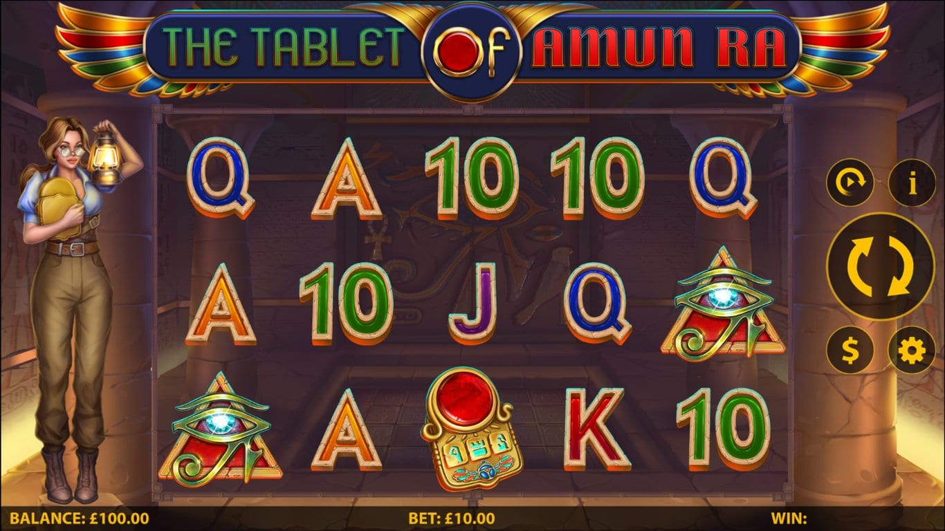 The Tablet of Amun Ra Slot Game
