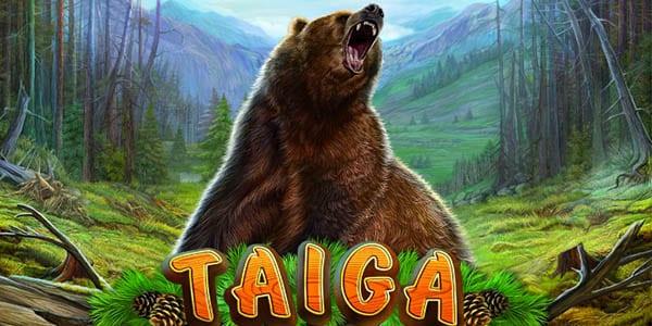 Taiga online slots game logo