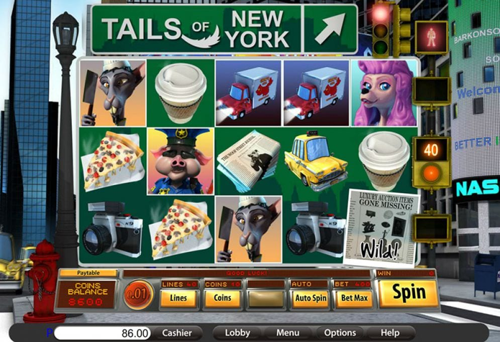 Tails of New York Free Slots