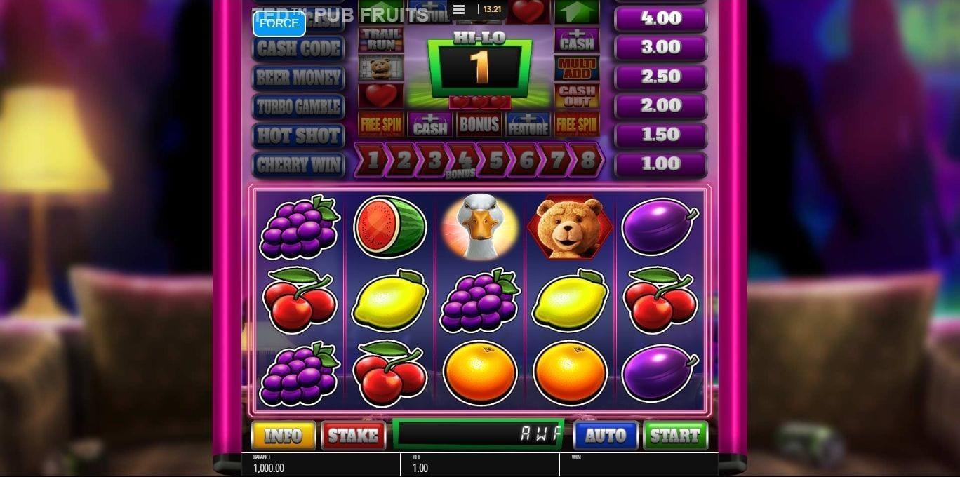Ted Pub Fruits Series Free Slots