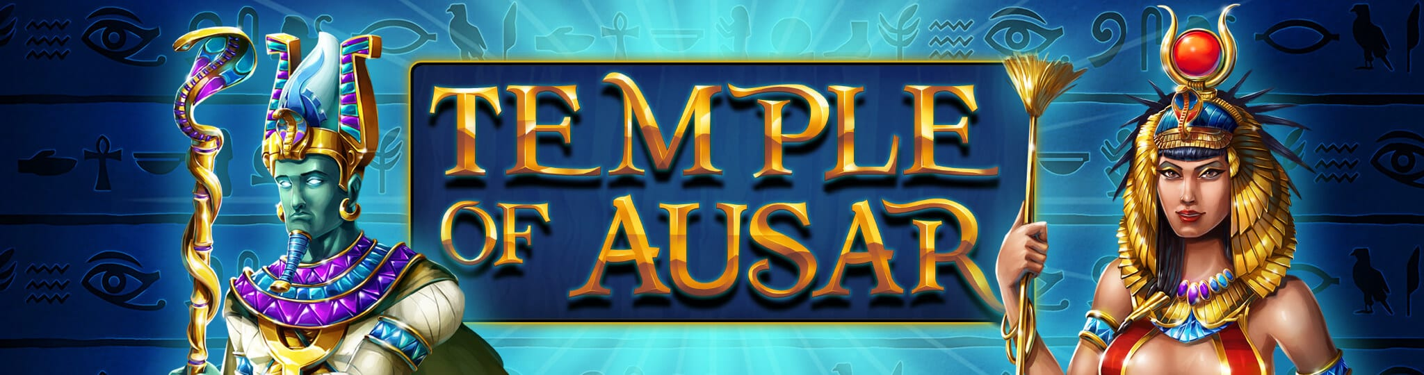 Temple Of Ausar online slots game logo
