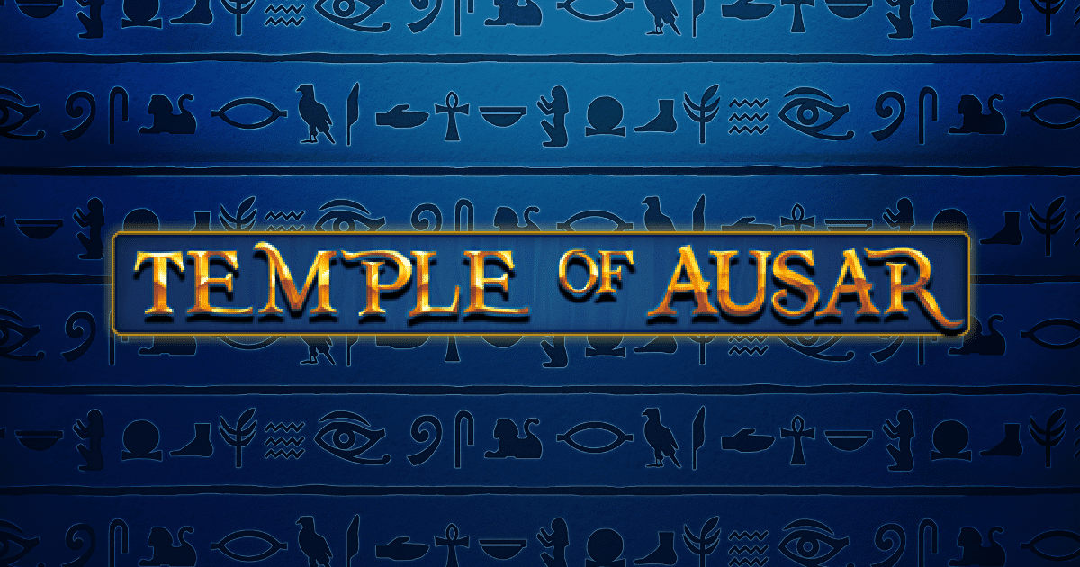 Temple of Ausar Jackpot Slots game logo