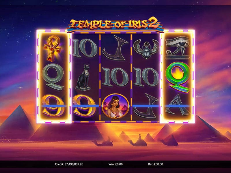 Temple of Iris 2 Slot Games