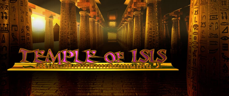 Temple Of Isis online slots game logo