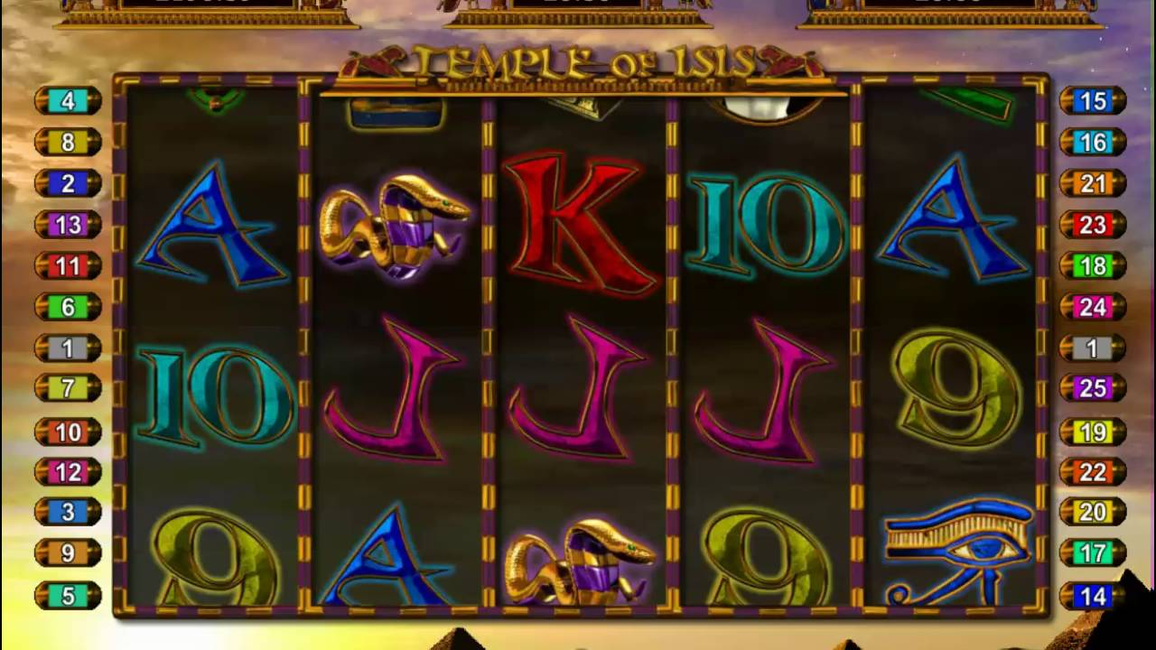 Temple of Isis Jackpot Gameplay 2