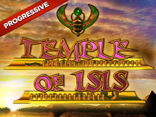 Temple of Isis Jackpot Slots game logo