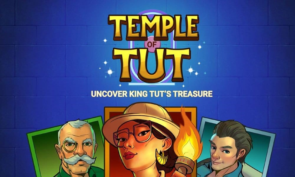 temple of tut slots game logo