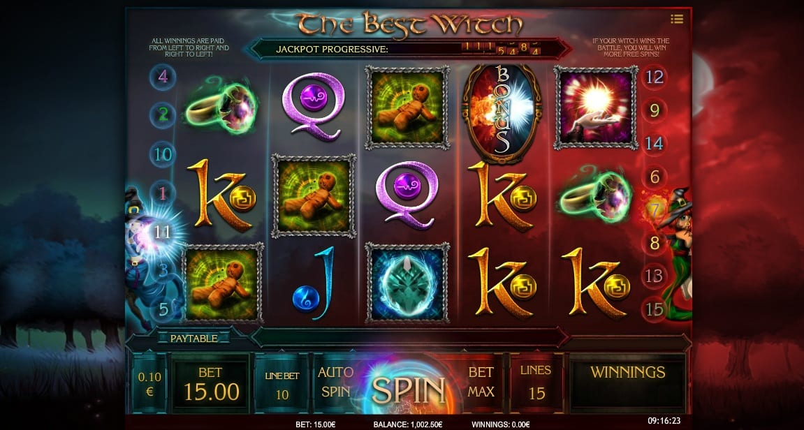 The Best Witch online slot Online
