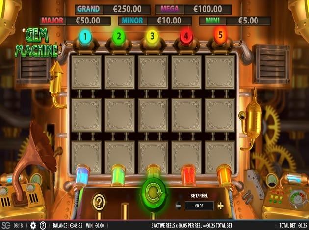 The Gem Machine Slots Game