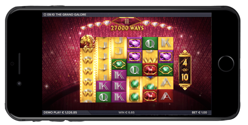 The Grand Galore Mobile Slots