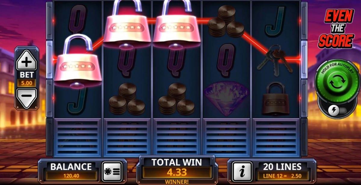 The Perfect Heist Slot Gameplay