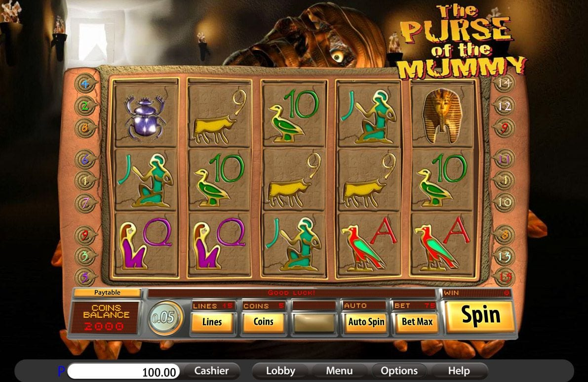 Purse of the Mummy Slot Online