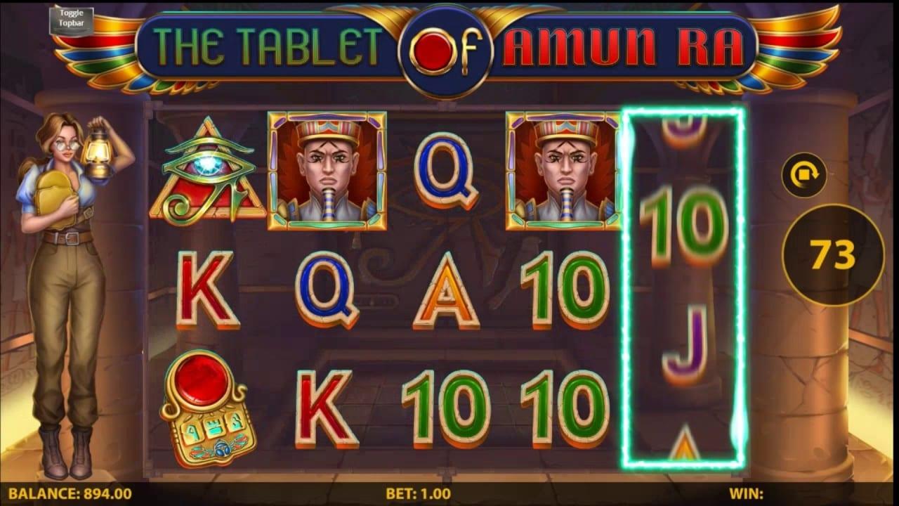 The Tablet of Amun Ra Slot Uk