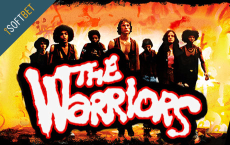 The Warriors online slots game logo