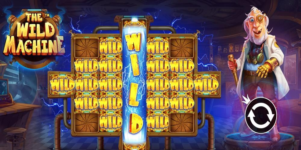 The Wild Machine Slots Wilds