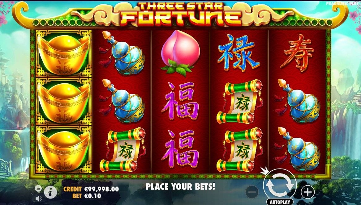 Three Star Fortune Slot Game